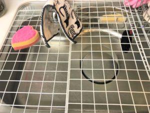 キッチンの猫対策